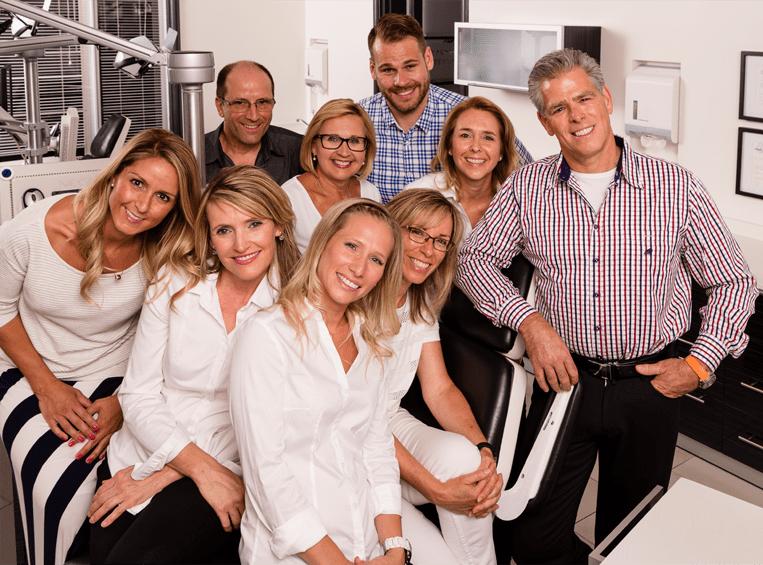 L'équipe de la clinique Bérubé-Aucoin, les spécialistes orthodontistes à Québec.